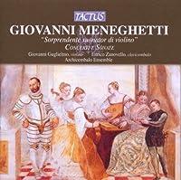Meneghetti: Violin Concerti and Sonatas (2008-04-08)