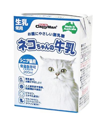 ネコちゃんの牛乳シニア猫用 200ml×24個