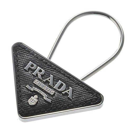 PRADA(プラダ) 型押しカーフスキン キーホルダー/キーリング 2PP301 053 002 [並行輸入品]