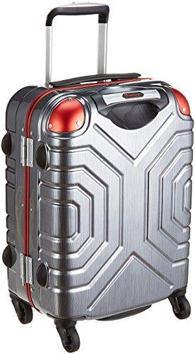 [シフレ] スーツケース グリップマスター 28L 3.2kg ダブルキャスター コーナーパッド 機内持込可 保証付 28L 50cm 3.2kg B5225T-44 ヘアラインBK/RD ヘアラインBK/RD