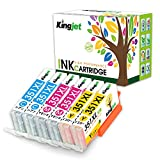 【高品質 互換インク】BCI-351XL CMYx2 カラー6本セット Canon (キヤノン) 互換インク 各色2本づつ 最新ICチップ・残量表示 『インクもプリンターも安心1年保証』【Kingjet オリジナル】