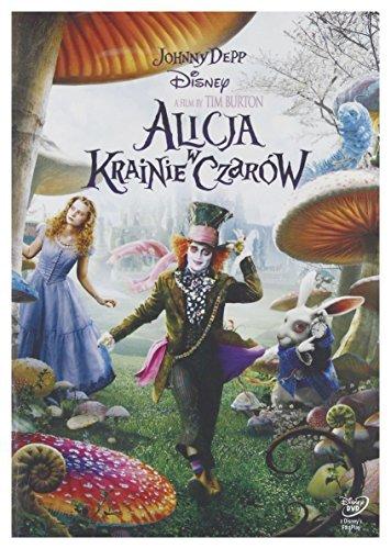 Alice in Wonderland [DVD] [Region 2] (English audio. English subtitles) by Mia Wasikowska