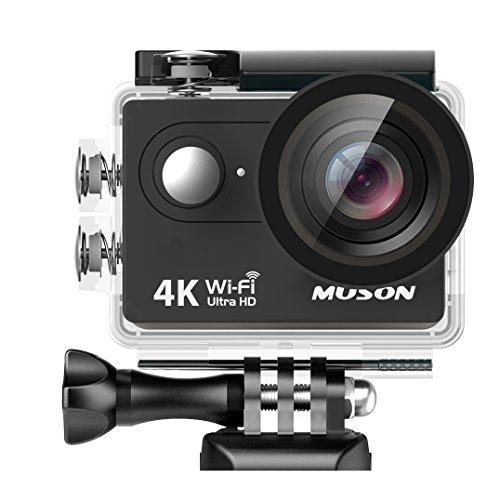 MUSON(ムソン)【メーカー直販/1年保証付】アクションカメ...