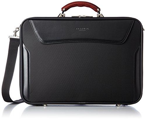 [エバウィン] ビジネスバッグ 日本製 アタッシェケース EW21578 BK ブラック