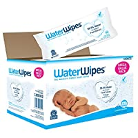 WaterWipes Sensitive Baby Wet Wipes, Natural & Chemical-Free, 12 packs of 60 Count (720 Wipes) by WaterWipes