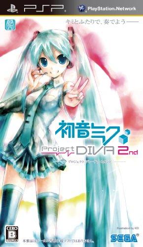 初音ミク -Project DIVA- 2nd (特典なし) - PSP