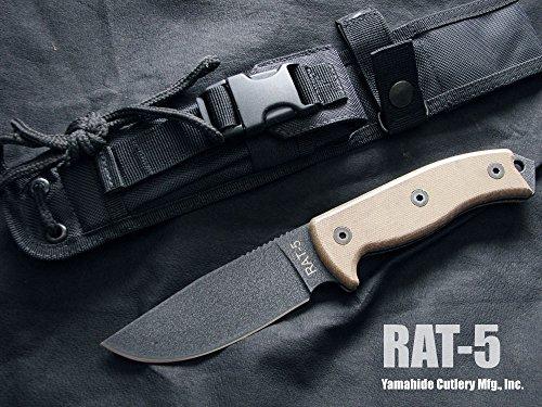 オンタリオ ナイフ #8627 RAT-5 1095カーボンスチール