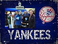 Fan Creations ニューヨークヤンキース チーム名 クリップイット フォトフレーム
