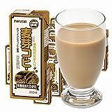 マルサンアイ 豆乳飲料 麦芽コーヒー (有機栽培大豆使用) 200ml紙パック×24本入