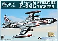 KH80101 1:48 Kitty Hawk F-94C Starfire Fighter US Air Force MODEL KIT [並行輸入品]