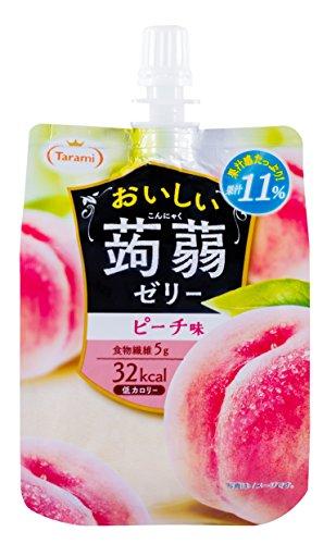 おいしい蒟蒻ゼリー ピーチ味 150g