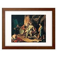 Tiepolo, Giovanni Battista 「The Death of Seneca. About 1725」 額装アート作品