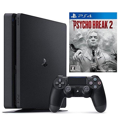 PlayStation 4 ジェット・ブラック 500GB + サイコブレイク2【CEROレーティング「Z」】 【Amazon.co.jp限定】オリジナルカスタムテーマ配信