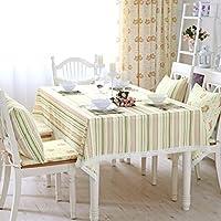JCRNJSB® テーブルクロスのテーブルクロスのヨーロッパスタイルの農村のコーヒーテーブルの現代ミニマルラインのレースのテーブルクロス ウォッシャブルで気になる ( サイズ さいず : 110*110cm )