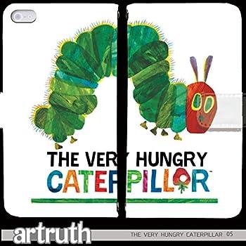 e2a40f787e THE VERY HUNGRY CATERPILLAR 手帳型 iPhone8 (iPhone 8) (G008001_05) 専用 絵本 pop  art センス 個性的 スマホケース