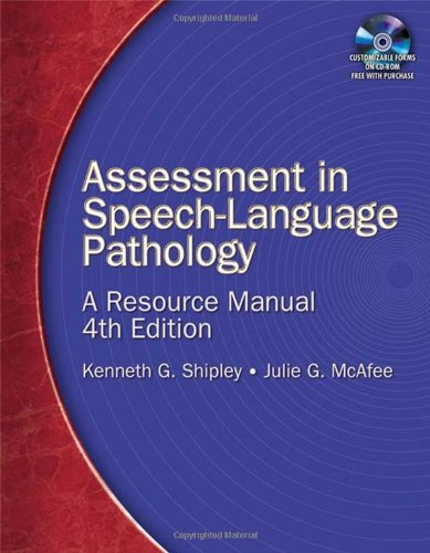 Download Assessment in Speech-Language Pathology: A Resource Manual 1418053287