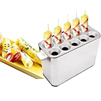 MXBAOHENG ホットドッグスチーマー ポップアップホットドッグ The Dog Hut Hotdog 電気 レストラン、スナックバー、ティーショップ、バーベキューショップ、コンビニ 家など適用 桌上型 (110V)