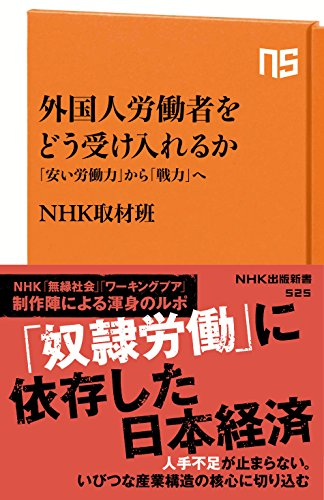 [画像:外国人労働者をどう受け入れるか 「安い労働力」から「戦力」へ NHK出版新書]
