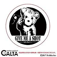 CALTA-ステッカー-givemeashot (1.Sサイズ)