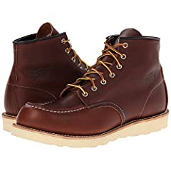 Red Wing Classic Work 6-Inch Moc Toe Boot