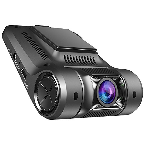 Vikcam ドライブレコーダー 1080PフルHD 170°広角 内蔵WiFi 動き検知 G-センサー ループ録画 WDR&HDR機能 駐車監視機能搭載 暗視機能 日本語説明書付き