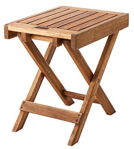 AZUMAYA フォールディングサイドテーブル 折りたたみ可...