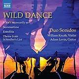 野性的な踊り:ヴァイオリンとギターのための編曲集