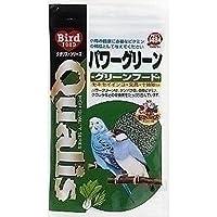 (まとめ買い)クオリス 鳥の餌 パワーグリーン グリーンフード 100g 【×10】