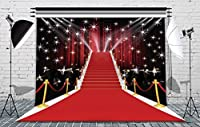 8x 8ftステージ照明レッドカーペット写真バックドロップシームレスなビニール写真ビデオスタジオ小道具カスタマイズされた背景aa-035
