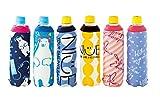 かわいい6種の異なるデザイン ボトルカバー ペットボトルホルダー ペットボトルカバー 6種セット