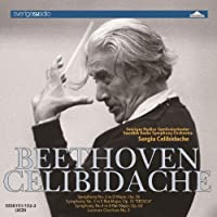 Beethoven:Symphonies 2 3&4 by CELIBIDACHE SWEDISH RADIO SYM (2012-07-29)