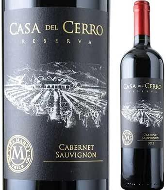 カサ・デル・セロ・レゼルヴァ・カベルネ・ソーヴィニョン ヴィニャ・マーティ 2018年 チリ セントラル・ヴァレー 赤ワイン フルボディ 750ml