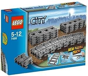 レゴ (LEGO) シティ フレキシブルレール 7499