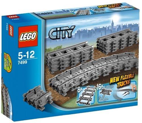 レゴ シティ フレキシブルレール 7499