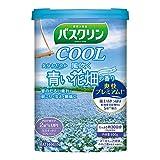 【医薬部外品】バスクリンクール入浴剤 風吹く青い花畑の香り600g クール入浴剤 すっきりさわやか