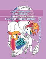 Unicorns and Gryphons Colouring Book (Unicorn Colouring)
