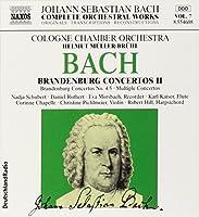 Bach Edition 7 - Bach: Brandenburg Concertos II (4 & 5) / Cologne CO