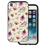 Best BG iPhone 4ケース - mitas iPhone7 ケース ハイブリットケース 耐衝撃 (913) 花柄 シック Review