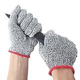 JEOutdoors 耐切創手袋 防刃手袋 軍手 作業用 業務用 食肉加工用 手袋 カットレベル5 サイズ M