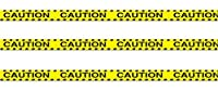 Beistle S66106AZ3 3 Rolls Caution Party Tape 3 x 20' [並行輸入品]