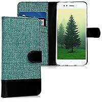 kwmobile Xiaomi Mi 5X / Mi A1 用 ケース - スマホカバー 手帳型 PUレザー - 携帯 保護ケース カードポケット スタンド 付き