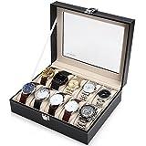 Readaeer® 腕時計収納ケース 腕時計収納ボックス コレクションケース 10本用