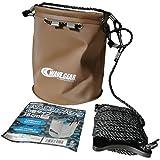 ウェブギア(Wave Gear) KMY1491 EVA水汲みバケツ巾着タイプ 18cm ブラウン KMY1491
