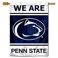 "PSU Nittany Lions 28 "" x 40 "" Two Sided House Flag"