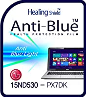Healingshield スキンシール液晶保護フィルム Eye Protection Anti UV Blue Ray Film for Lg Laptop 15ND530-PX7DK