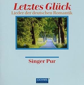 メンデルスゾーン/ブラームス/シューマン/ジルヒャー:ドイツの声楽作品集(ジンガー・プア)