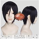 耐熱コスプレウィッグ 薬研藤四郎 刀剣乱舞ONLINE(とうらぶ)かつら cos wig  sunshine onlineが販売+おまけ