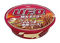 日清食品 日清焼そばU.F.O. 明太子マヨ焼そば 127g×12個