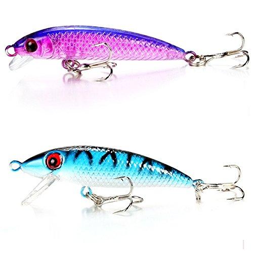 Walant ルアーセット 釣り用ツール 渓流 湖 釣り ワーム・スプーン・スピナー各10個 30個入り 初心者にも