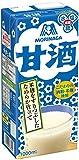 森永製菓 甘酒 紙パック1L×6本入【×2ケース:合計12本】